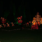 Santa's Village Lighting Display
