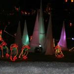 Xmas Penguin Lighting Display
