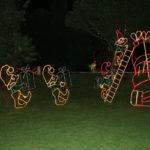 Santa's Elves packing Xmas Stocking Motifs