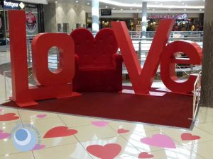 Valentine's Day Display and Decor